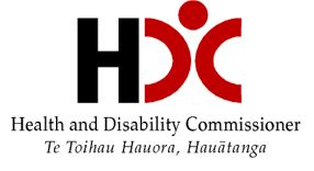Health & Disability Commissioner