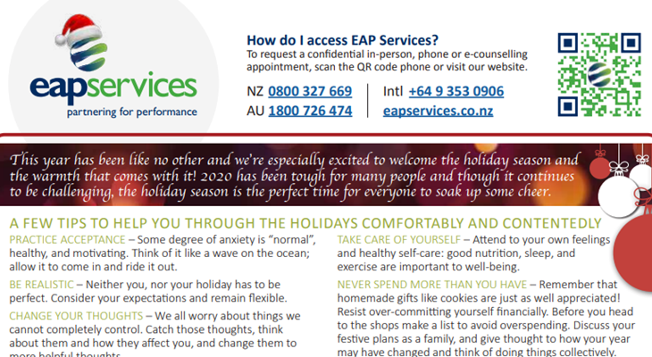 EAP Services e-Flyer No. 42