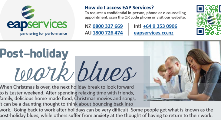 EAP Services e-Flyer No. 43